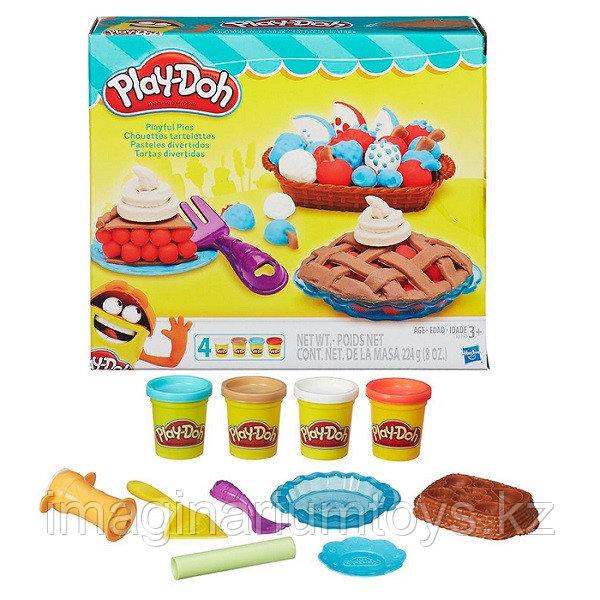 Hasbro Play-Doh Плейдо Игровой набор «Ягодные тарталетки»