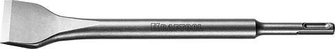 "Зубило  лопаточное изогнутое SDS-Plus, 40x250мм, KRAFTOOL ""EXPERT"" 29327-40-250, фото 2"