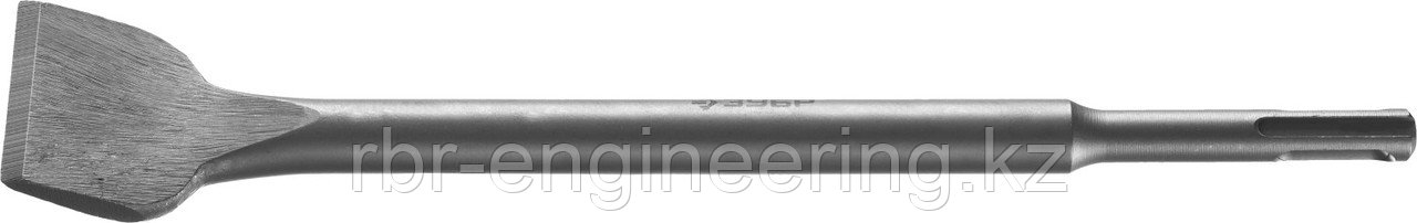 Зубило плоское изогнутое SDS-plus, ЗУБР 40 x 250 мм