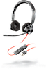 Проводная гарнитура Poly Plantronics Blackwire 3320, BW3320, USB-A (213934-01)