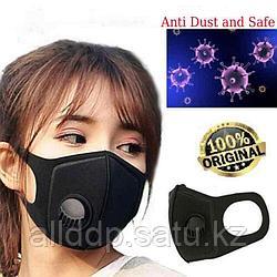 Kn95 многоразовая маска для лица с дыхательным клапаном PM2.5