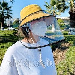 Регулируемый защитный чехол маска козырек