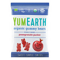 YumEarth Organic Gummy Bears желейные жевательные конфеты мишки 50 гр
