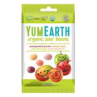 YumEarth Organic Sour Beans Органические жевательные конфеты 50 гр