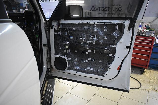 Шумоизоляция автомобиля в Алматы