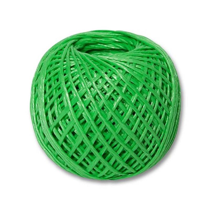 Шпагат полипропиленовый зеленый 110 м. 1200 текс. Сибртех