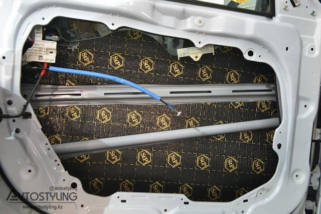 Шумоизоляция дверей | Шумоизоляция авто Алматы