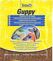 Корм Tetra Guppy Flakes для гуппи и живородящих рыб, хлопья - 12 г