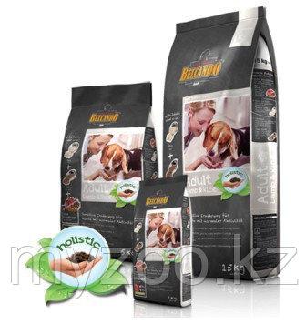 BELCANDO ADULT LAMB&RISE, Белькандо Адалт ягненок, гипоаллергенный корм для собак, уп.4 кг
