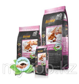 Belcando Finest GF Lamb (ягненок) Белькандо безглютеновый корм для мелких и средних собак с ягненком, уп. 4 кг