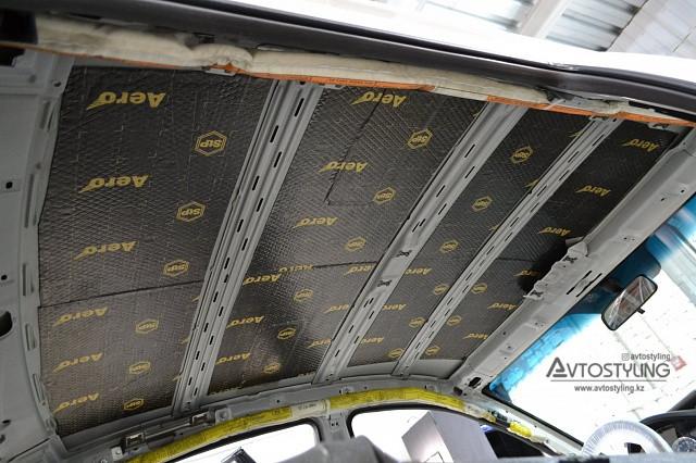 Шумоизоляция крыши | Шумоизоляция авто Алматы
