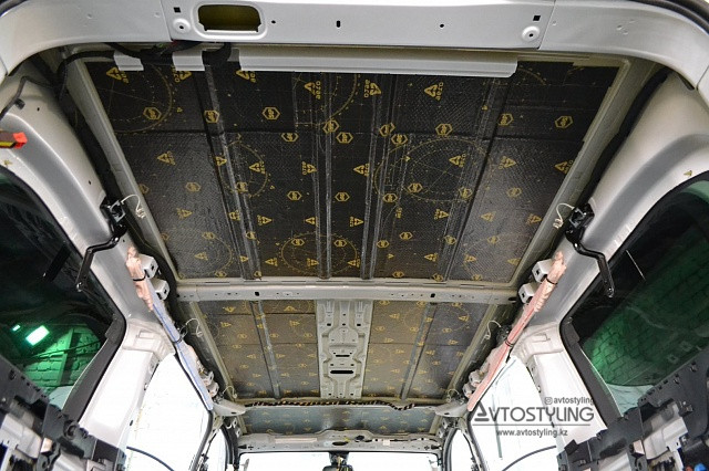 Шумоизоляция крыши   Шумоизоляция авто Алматы
