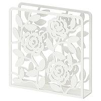 Салфетница ЛИКСИДИГ белый 16x16 см  ИКЕА, IKEA, фото 1