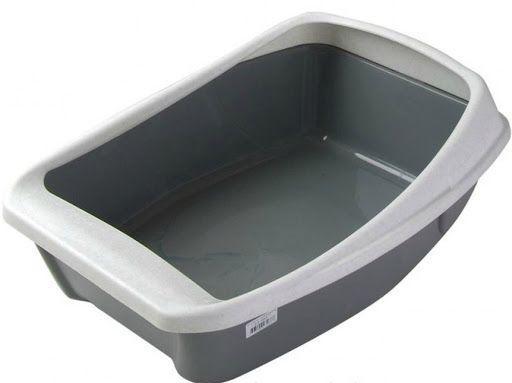 Туалет с бортиком Сибирская кошка - 44х32х16 см