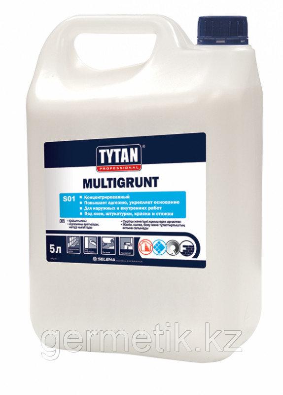 Tytan Multigrunt грунтовка, 10 л (концентрат)
