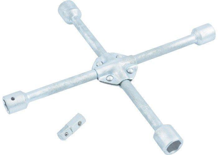 Ключ-крест балонный 17*19*21*22 усиленный STELS