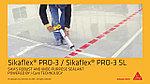 Sikaflex PRO-3 black, клей-герметик, черный 600 мл, фото 7