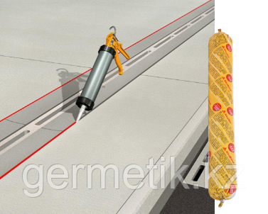 Sikaflex Floor, герметик, серый 600 мл