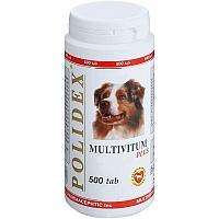 Мультивитамины для собак POLIDEX Multivitum plus - 1 табл.