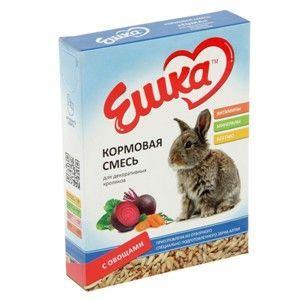 Кормовая смесь Ешка для кроликов с овощами - 450 г