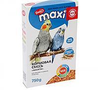 Корм Ешка Ассорти MAXI для мелких и средних попугаев - 750 г