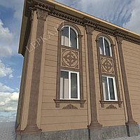 Декор элементов для фасада дома