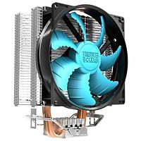 PCCooler GI-X2B, синий, 4-пин, 115X/775/AM4-FM2, 26.5дБ, 1000-1800 об/мин, Al+тепл.трубки, 105W