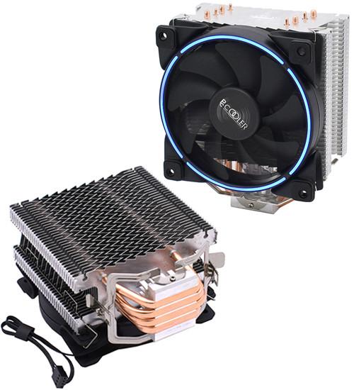 Кулер для процессора PCcooler GI-X4B V2 цвет подсветки голубой