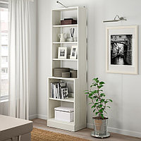 ХАВСТА Стеллаж с цоколем, белый, 61x37x212 см, фото 1