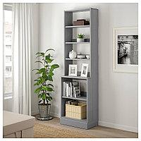 ХАВСТА Стеллаж с цоколем, серый, 61x37x212 см, фото 1