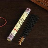 Благовония 'Sarathi Camphor' (Камфора), плоская упаковка, 20 палочек (комплект из 6 шт.)