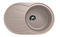 Мойка кухонная односекционная ECO Stone 750 х 480