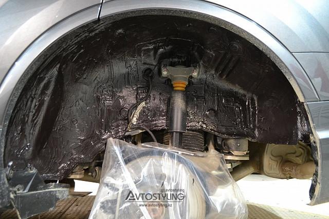 Шумоизоляция колесных арок | Шумоизоляция авто Алматы