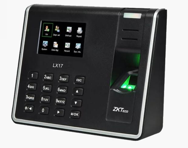 Биометрический автономный терминал ZK LX17