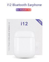 Беспроводные сенсорные наушники  i12