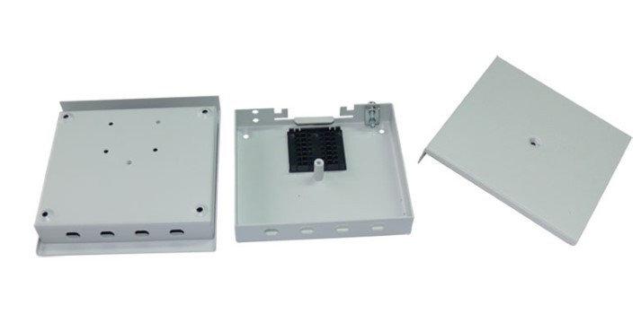 Кросс оптический настенный (ШКОН), до 4SC портов, фото 2