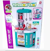 Детская игровая кухня, с крана льется вода. Световые и звуковые эффекты.
