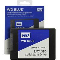 """Твердотельный накопитель 250GB SSD WD Серия BLUE 3D NAND 2.5"""""""