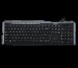 Клавиатура Logitech K200 (Black)
