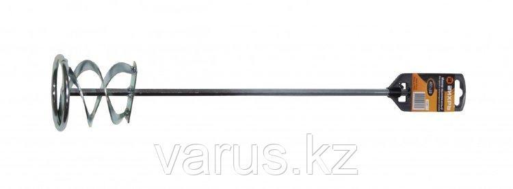 Насадка - миксер оцинкованная 400х80 мм для красок и штукатурных смесей Вихрь