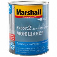 Краска Marshall EXPORT-2 глубокоматовая латексная BW 0.9, BW