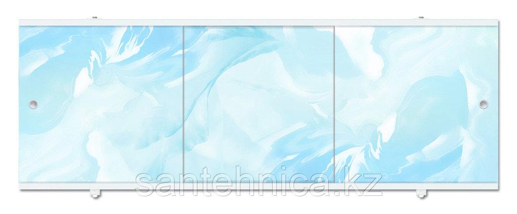 Экран для ванны Премиум А 1480х560х34 мм голубой
