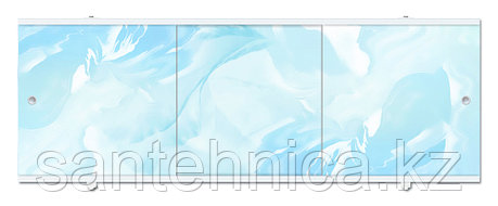 Экран для ванны Премиум А 1480х560х34 мм голубой, фото 2