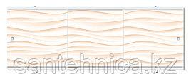 Экран для ванны Премиум А 1680х560х34 мм песочный
