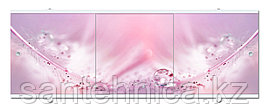 Экран для ванны Премиум А 1680х560х34 мм розовый