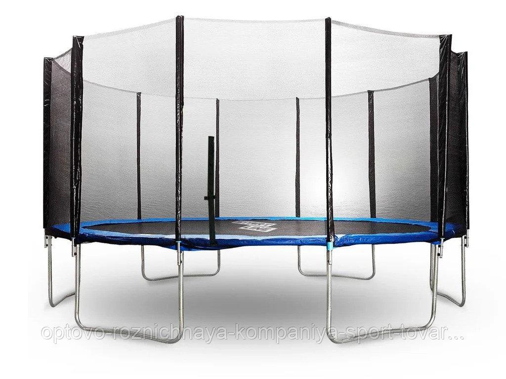 Батут StartLine Fitness 16 футов (488см) с внешней сеткой