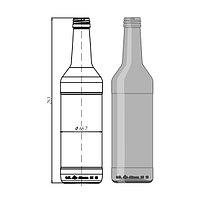 """Стеклотара 003 -В28-1-500мл """"Wodka Bottle"""""""