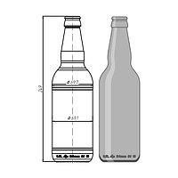 """Стеклотара 019-А-26-500мл """"Beer"""""""