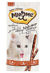 Лакомство для кошек Мнямс Лакомые палочки с индейкой и ягненком Pro Pet Austria Heimtiernahrung 10 шт по 5г
