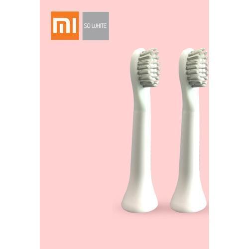 Сменные насадки для зубной щетки So White EX3 2 шт. (белый)